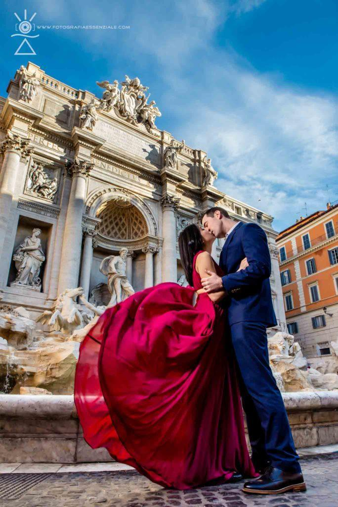 Fotografo Matrimonio Roma - Fontana di Trevi